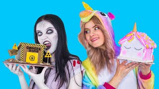 9 DIY Unicorn vs Zombie Christmas Sweets