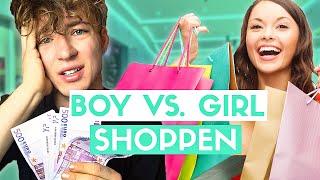 Boy vs. Girl - Shoppen gehen | Die Lochis