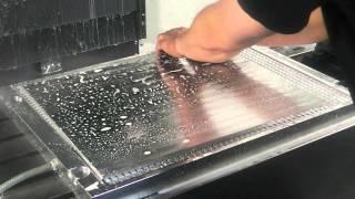 Изготовление деталей с использованием вакуумного стола на фрезерном станке с ЧПУ