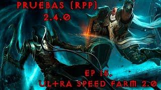 Diablo 3 - Ep 15 - Ultra speed farm 2.0 para T10, Monje Uliana [RPP-2.4.0]