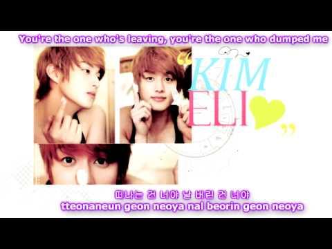 U-Kiss - Baby Don't Cry [Eng Sub + Romanization + Hangul]
