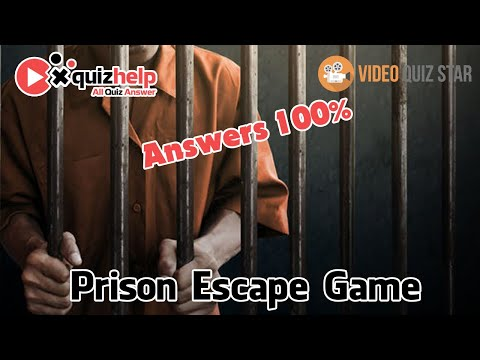 Prison Escape Game Quiz Answers 100%   Video Quiz Star   QuizHelp.Top