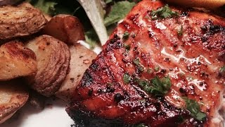 Goprocook's: Blackened & Broiled Salmon
