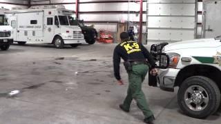 Davis County Sheriff K9 Jak Recall and Escort