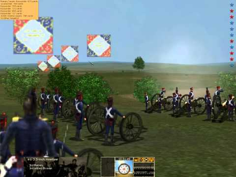Scourge of War Napoleonic Mod HITS multi Waterloo event III