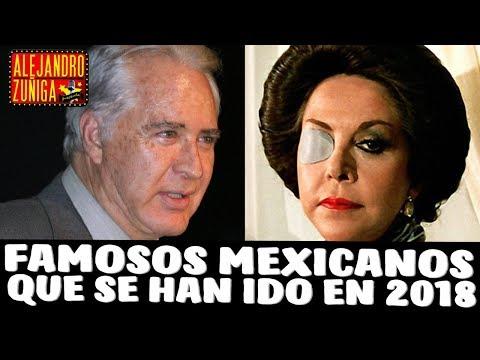 ACTORES MEXICANOS QUE SE HAN IDO EN 2018