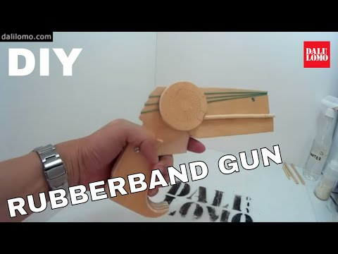 DIY Batman Rubber Band Gun | Costume Prop & Toy