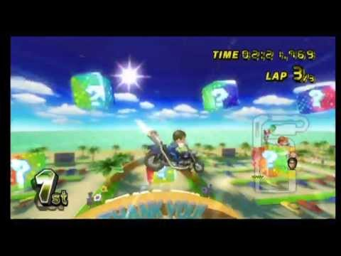 Mario Kart Wii: Coconut Mall