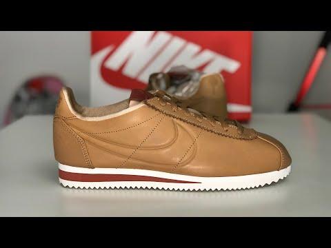 new style 445fc d37c8 Nike La Cortez x Maria Sharapova 'Fall' Sneaker Unboxing ...