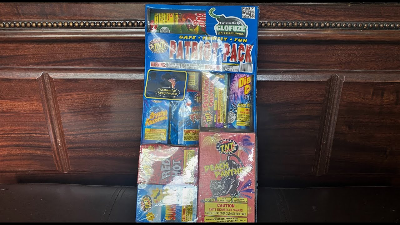 TNT Fireworks - Patriot Pack Assortment Unboxing (2020 Version)