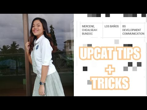 HOW I PASSED THE UPCAT, PUPCET, UECET + Tips and Tricks (College Entrance Exams) | Chealseah Mercene