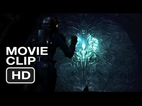 Prometheus Movie CLIP #5 - Don't Touch Anything (2012) Ridley Scott Movie HD