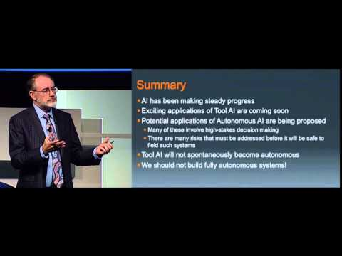 "Tom Dietterich: Smart Software in a World with Risk (DARPA ""Wait, What?"")"