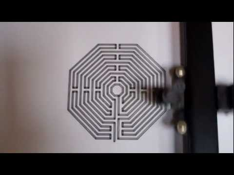 Labyrinth - Radionic Inter-dimensional Bridge Form