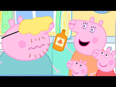Peppa Pig in Hindi - Pancakes - Hindi Cartoons for Kids