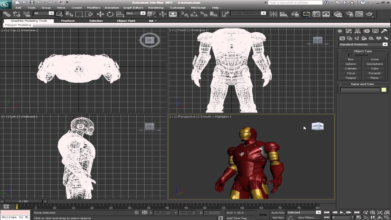 Modelo 3d de iron man para 3d max gratis youtube for Programa para cocinas 3d gratis