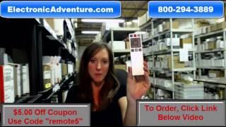 Original Vizio 0980-0306-1471 Stream Player Remote Control(098003061471)Coupon $5 Off
