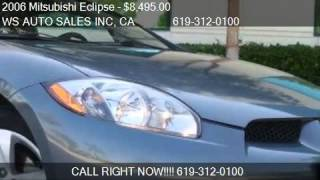 2006 Mitsubishi Eclipse GS Coupe - for sale in EL CAJON , CA