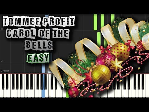 Tommee Profit - Carol Of The Bells - EASY - Piano Tutorial Synthesia (Download MIDI)