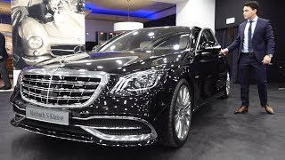 2018 Mercedes S Class S560 Maybach Long - NEW Full Review 4MATIC + Interior Exterior Infotainment
