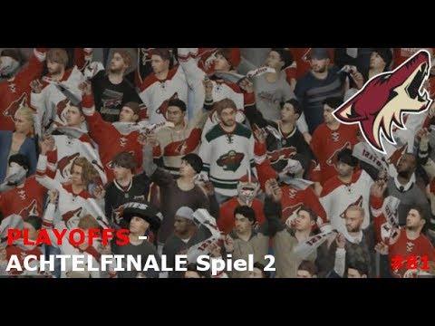 NHL 15 - PLAYOFFS #02: Coyoten-Wiedergutmachung? vs. Minnesota Wild | Part #81 [Let's Play] [GER]