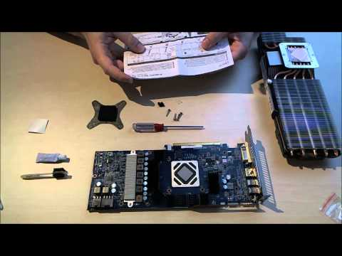 Installation- Arctic Cooling Accelero Xtreme 7970