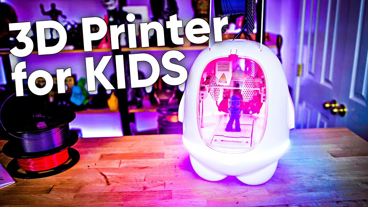$130 3D Printer For Kids - How bad could it be???
