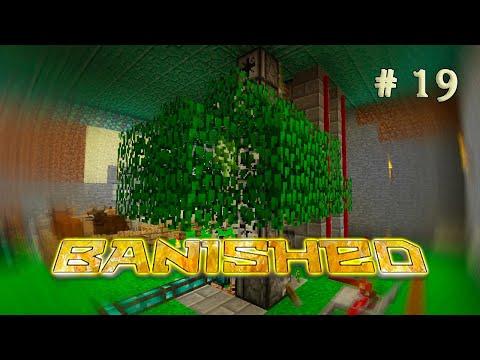 Banished #19 - ДРЕВОЖОР ИЛИ АВТОМАТИЧЕСКАЯ ФЕРМА ДЕРЕВА - выживание в майнкрафт под водой