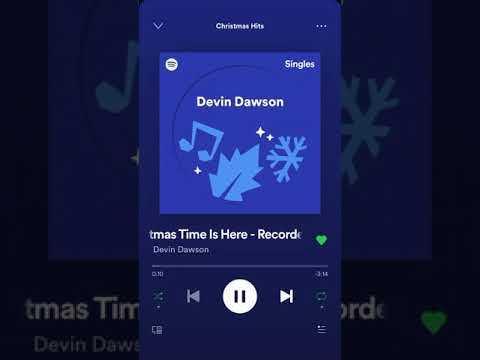Devin Dawson Christmas Time Is Here Spotify Version