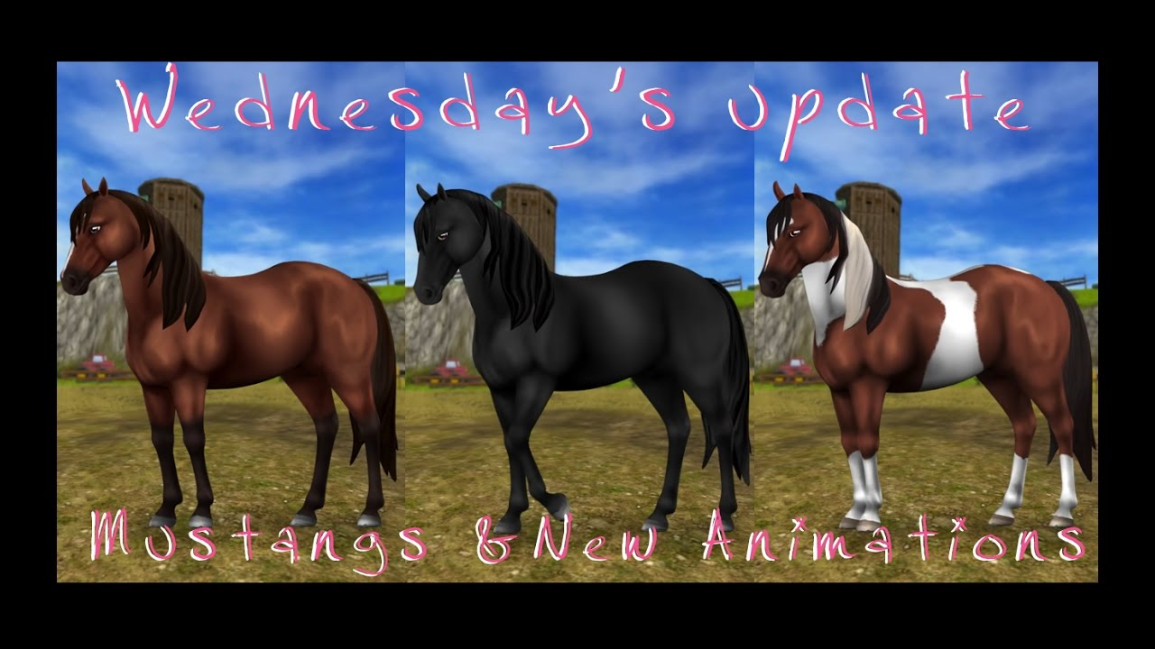 Star Stable Online Mustangs Amp New Animations Wednesday