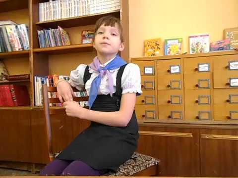 Изображение предпросмотра прочтения – ВикторияПупырева читает отрывок изпроизведения «Саша» Н.А.Некрасова
