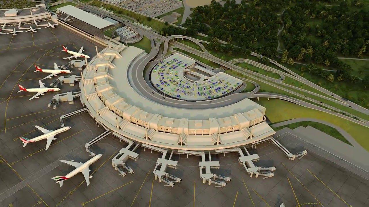 32bd044ccac3b Aeroporto Internacional do Galeão - YouTube