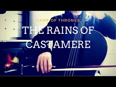 Game of Thrones - The rains of Castamere for cello solo (Travel Edition)