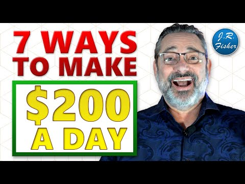 💰 7 Things You Can Do To Earn $200 A Day Online