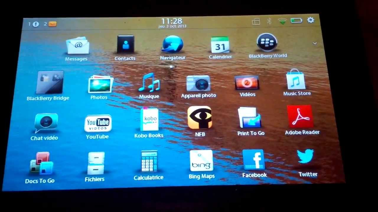installer Android sur BlackBerry Playbook