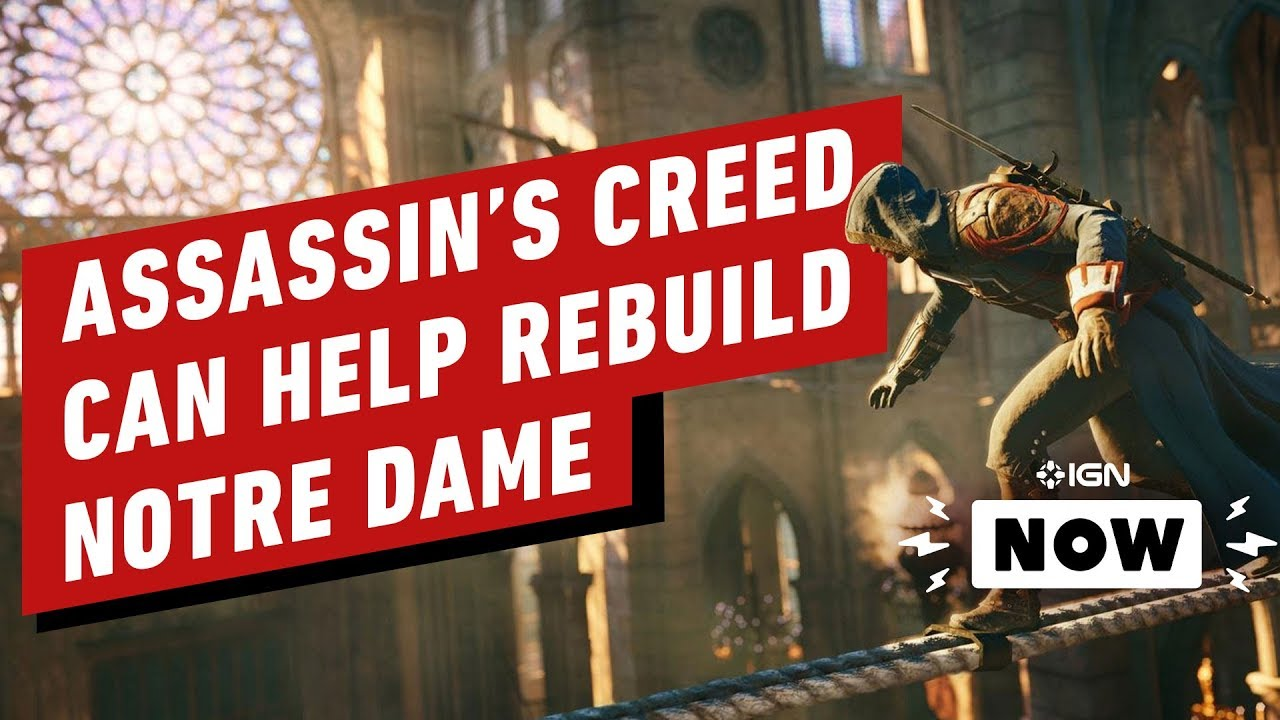 Ubisoft offers Assassin's Creed Unity for free so you can see Notre-Dame Cathedral
