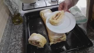 Çok pratik reçelli rulo pasta