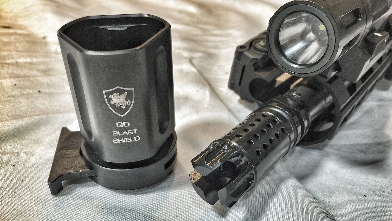 First Look: Griffin Armament QD Blast Shield