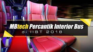 MBtech Percantik Interior Bus di IIBT 2018