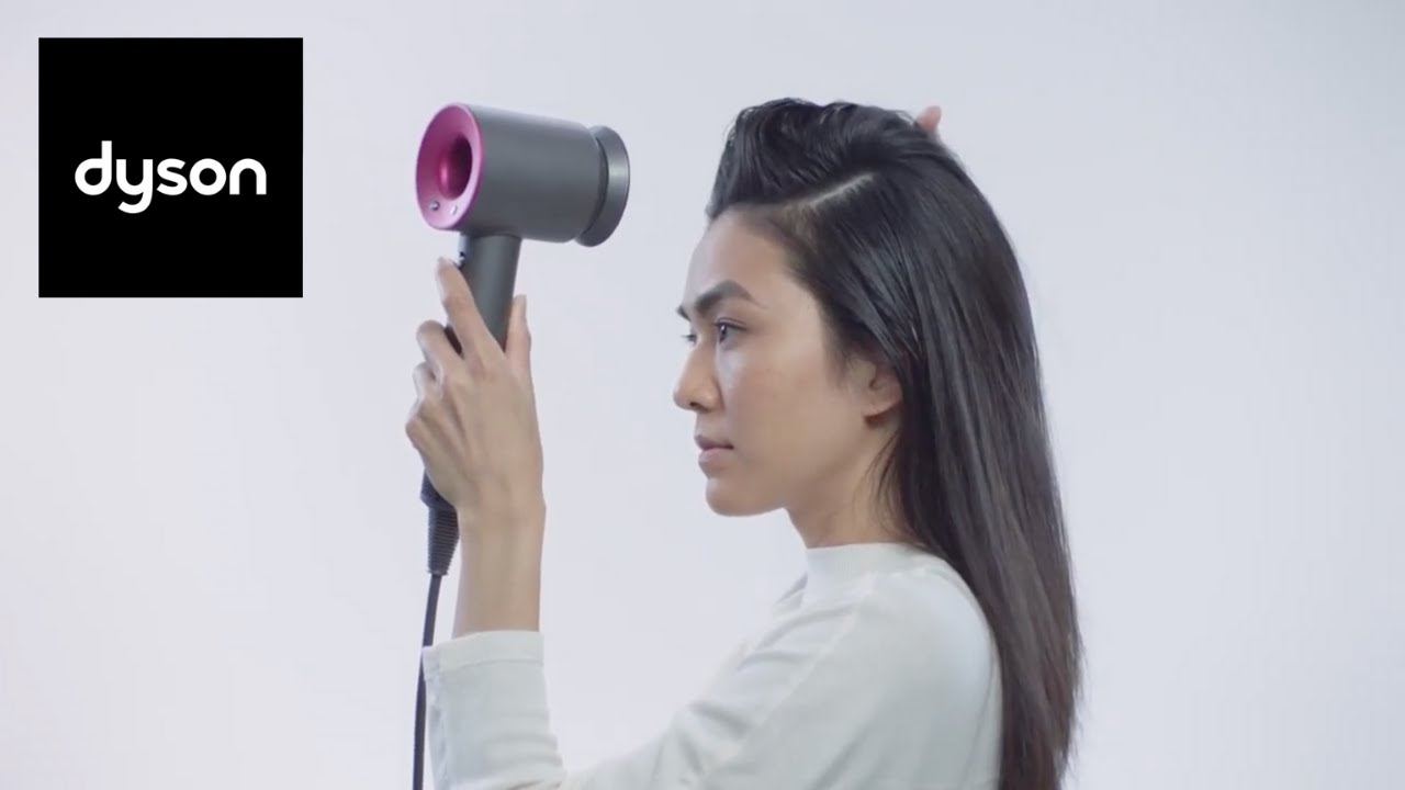 5 styling tips with Dyson Gentle air attachment. Dyson Supersonic™ hair dryer