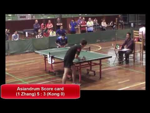 Zhang GuoZhi (#1 LP hitter) in Da Li Town- GuangDong tournament (scored)
