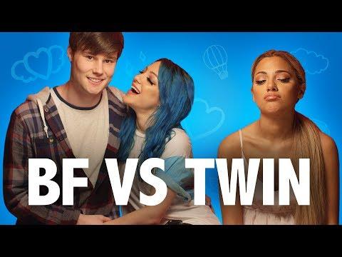 BOYFRIEND VS. TWIN | NIki & Gabi