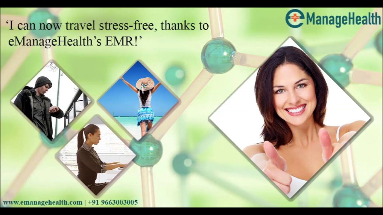 EManageHealth EMR Make For Happy Doctors And Patients