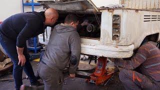 Demontaż zgniłych elementów i wybór silnika do nowego projektu! #Garaż_Dudy