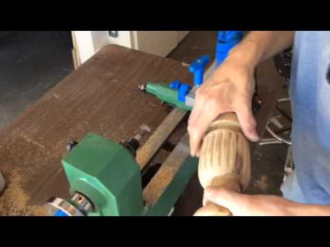 Cutting Threads in wood using the Thread Champ