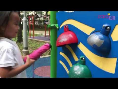 Sensory Playground di Singapore | Zara dan Kenzo Bermain sambil Belajar