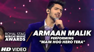 Armaan Malik Dazzling Performance at the Royal Stag Mirchi Music Awards 2016