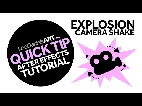 After Effects Tutorial | QUICK TIP | Explosion Camera Shake