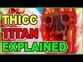 THICC 120 METER ROD TITAN EXPLAINED! | Attack on Titan Season 3 Colossal Titan Theory