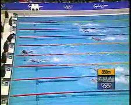 Men's 4 x 100m Freestyle Relay Sydney Olympics 2000 - www.WobblyBlock.com